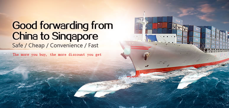 Goods forwarding from China to Singapore only needs S$95